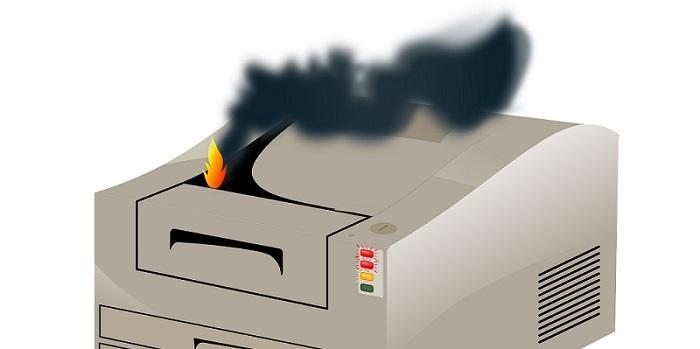 pokvarjen printer